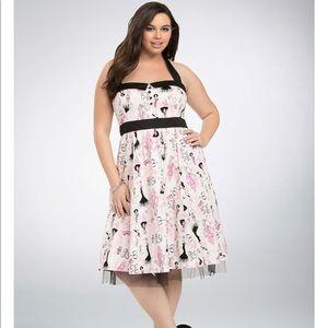 Torrid Barbie Retro Swing Dress